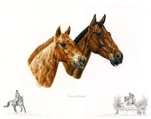 Horse Portrait - Childhood Ponies